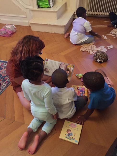 wedding sitter baby sitter mariage enfant jeux lecture kapla